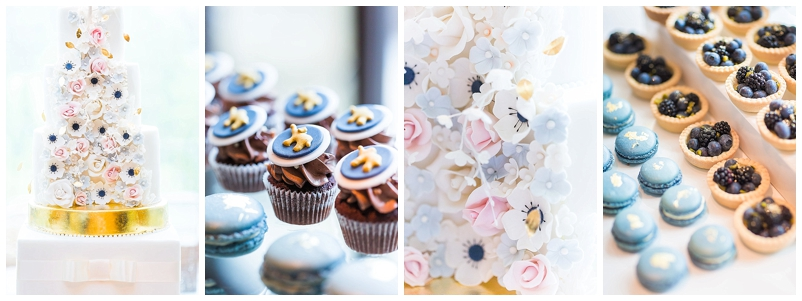 Hochzeitstorte, Sweet-Table, Cupcakes, Macarons