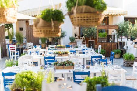 Sommerfest in Griechenland